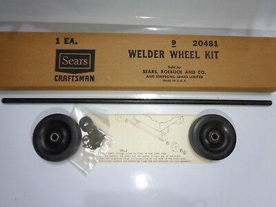 3-inch Welder Wheel Kit Sears Craftsman 20481 New
