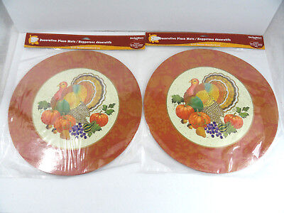 16 Thanksgiving Turkey Placemats 2 sided Kids Coloring Designware American Greet (Kids Thanksgiving)