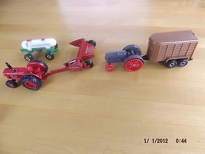 Ertl Mixed Lot of 5 Diecast 1/64 Toy Farm Vehicles See Desc. for sale  Hegins