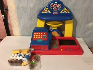 Little tykes shop and learn cash register