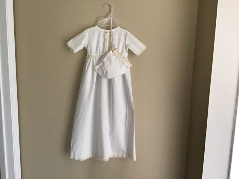 Vintage Christening Baptism gown Memory Wear By Deborah Cotton