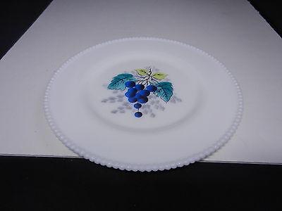 Westmoreland Beaded Edge Dinner Plate Blueberries 10 1/2