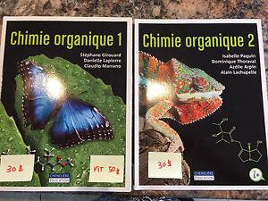 Chimie organique 1 et 2 - Girouard Lapierre Marrano - NEUF