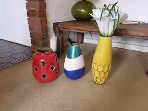 Ceramic Vases - $20 each Coogee Eastern Suburbs Preview