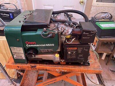 Onan Commercial 4500 Watt Generator Rv Motorhome Generator