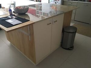 Kitchen Island/side Board With Marble Top Balgowlah Manly Area Preview