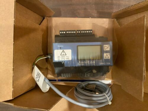 Janitza UMG 104 Network Diagnostic 3-Phase 1-Phase Data Logger Network Analyzer