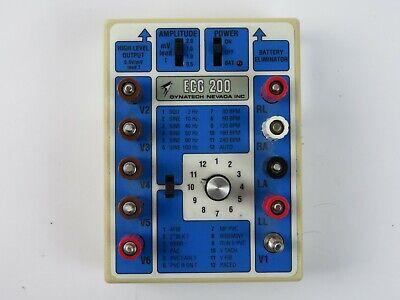 Dynatech Nevada Ecg 200 Ekg Simulator Dni Nevada Inc.