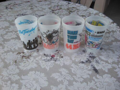 4 1998 Fat Tuesday Baltimore Inner Harbor Souvenir Cups Mugs Daiquiris Awesome