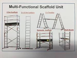 Multi-Functional Scaffold Unit + Stabilizer Legs Revesby Bankstown Area Preview