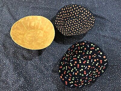 Decorative Fabric Bowls Halloween Fall Candy Corn Witches - Candy Schüssel Halloween