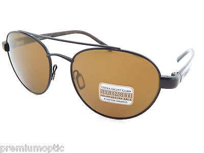 6abc5c6553 Serengeti Polarisiert Photochrom Mondello Sonnenbrille Schwarz   Fahrer Gold