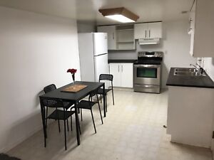 Spacious 1 bedroom basement apartment for rent