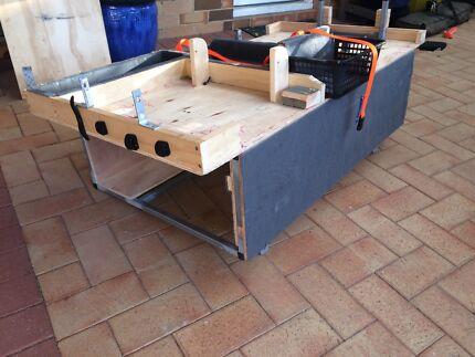 Backseat hilux storage unit Thornlie Gosnells Area Preview