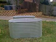 2 NEW RAISED GARDEN BEDS MADE FROM COLORBOND - INCLUDES DELIVERY Gladesville Ryde Area Preview