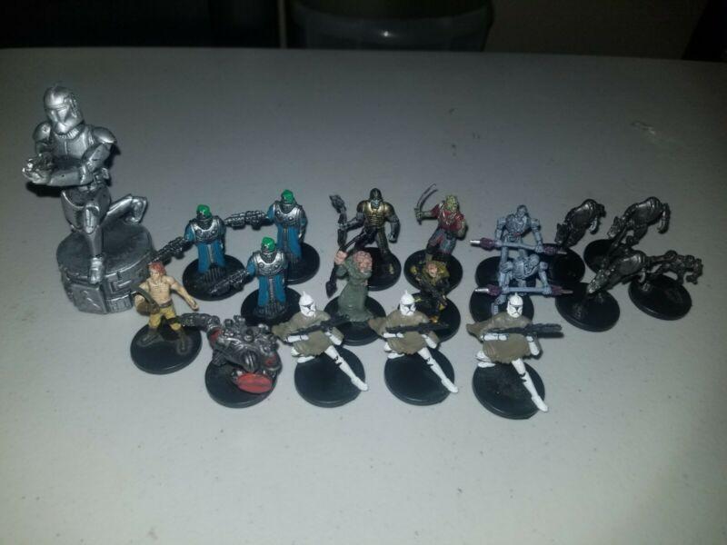 star wars miniatures lot