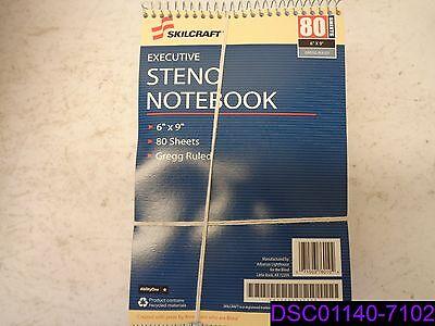 Qty 36 Skilcraft Steno Notebook Exec. Gregg-ruled 80 Shtpad 6x9 We 2237939