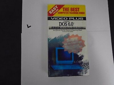 VIDEO PLUS - LEARNING DOS 6.0 THE BEST COMPUTER TRAINING VIDEO VHS (Best Vhs Computers)