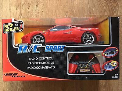Remote Control Car Red Ferrari R/C Sport, occasion d'occasion  Royaume-Uni