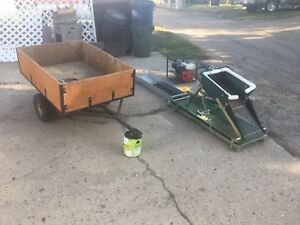 Gold panning equipment and trailer