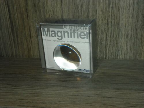 Ultra Dome Magnifier 2.5 Inch Self Focus Magnifier 4X NEW-LAST ONE
