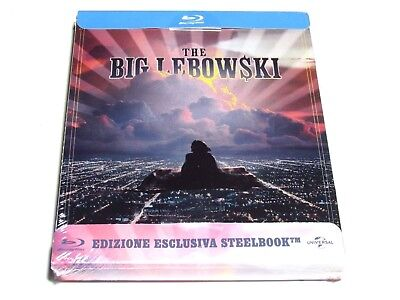 The Big Lebowski Blu Ray Steelbook Limited Edition Import Release Brand New