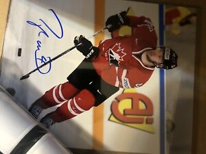 Taylor hall team canada signed 8x10
