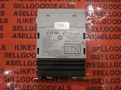 Crouzet Gnr20dcz Solid State Relay Heat Sink 20a 48-600vac New