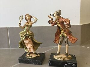 Fontanni Depose Italy Figurine Statures on Marble Base Dalyellup Capel Area Preview
