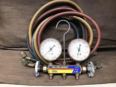 Yellow Jacket Ac Manifold Gauges And Hoses Used