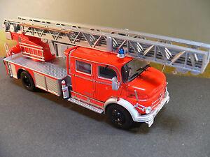 1/43 IXO Mercedes L1519/48 Metz DLK 30 Fw Hamburg Pompiers Feuerwehr 53