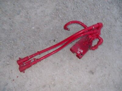 Massey Harris 33 Tractor Rear Hydraulic Control Valve Outlet Port Hoses