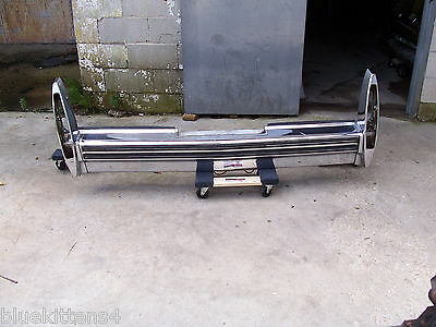 1978 79 FLEETWOOD REAR BUMPER OEM USED ORG GENUINE CADILLAC COUPE SEDAN DEVILLE