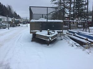 14 x 8 dump trailer for rent
