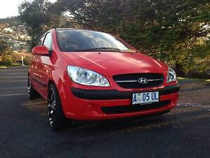 Price dropped for quick sale - Low KM Sporty 2008 Getz Hobart CBD Hobart City Preview