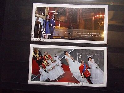 Guernsey 2011 Commemorative Stamps~Royal Wedding~M/S~Fine Used ~on piece~UK