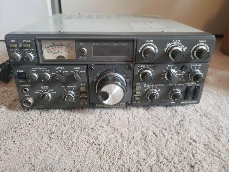 Kenwood TS 830S Gold Label Transceiver with D-104 Microphone