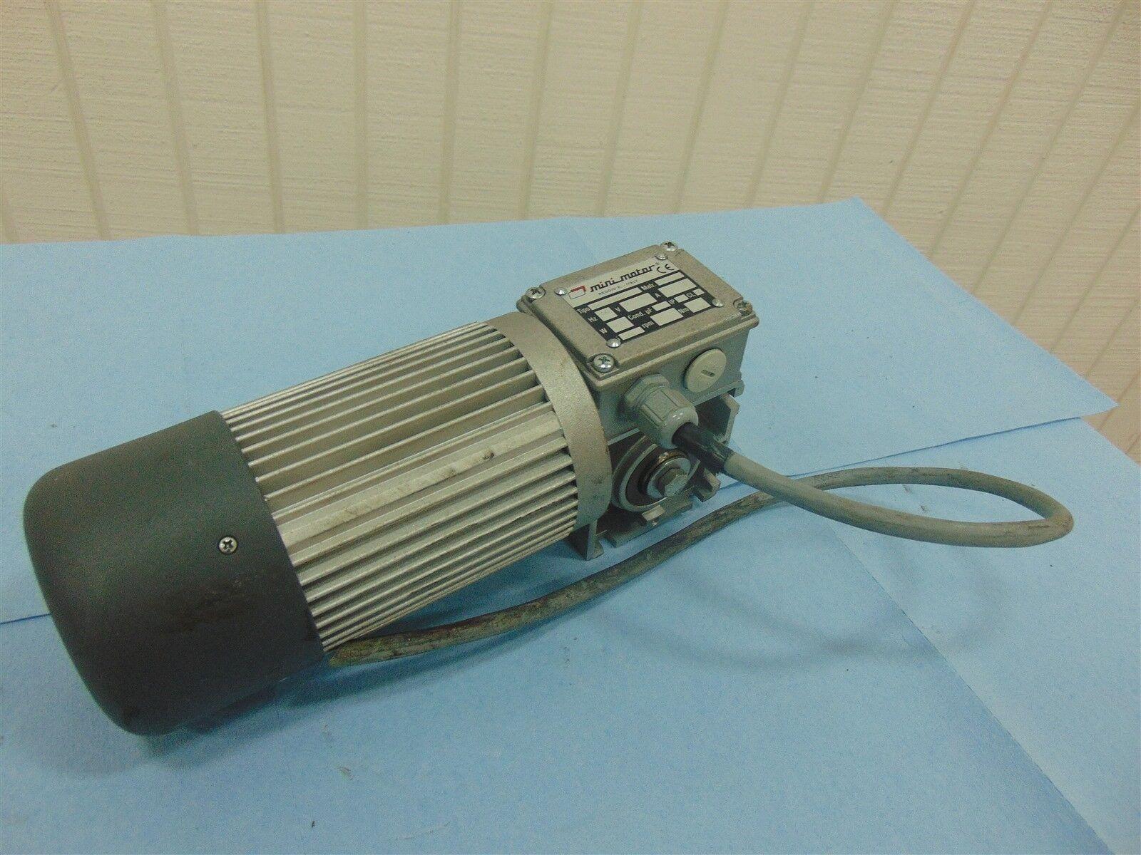 Mini Motor PC530M4T Electric Motor 230/400V 1.4/0.81 270W 93RPM i=30 50Hz 20Nm