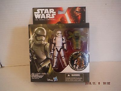 Star Wars The Force Awakens First Order Storm  Trooper Camo  3.75