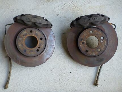 S14 / Z32 front brakes good upgrade for S13 / 180sx Forrestdale Armadale Area Preview