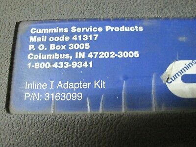 Cummins Inline Data Link Adapter Kit With Case Cables  Aa913