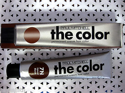 Paul Mitchell THE COLOR Permanent CREAM Hair Color  YOUR CHOICE  (Brown Box