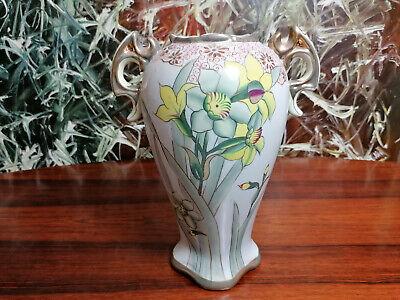 Weller L/'Art Nouveau 11 vase  C 1904 Flowing stems and flowers