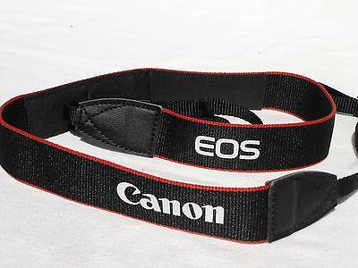"Canon EOS Digital DSLR Camera Shoulder Neck Strap T5 1.25"" Wide GENUINE EW-300D"
