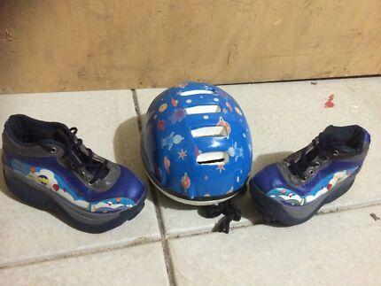 Roller skates  with Helmet Gosnells Gosnells Area Preview