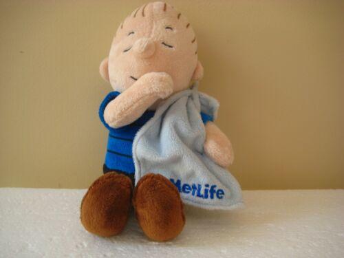 Peanuts METLIFE Linus with Blanket Plush Excellent