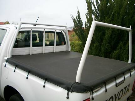 Toyota Hilux SR Ladder Rack and fitted tonneau cover Hewett Barossa Area Preview