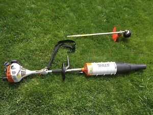 Stihl combi blower and trimmer