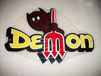 Dodge Demon 12  Metal Car Gas Oil Sign