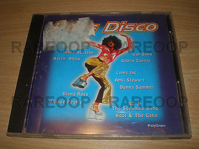 Pure Disco ABBA Barry White Diana Ross Village People (CD) MADE IN ARGENTINA